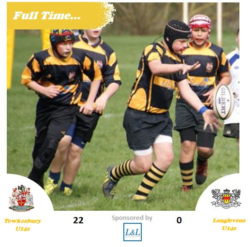 Old Richians Rugby: Full Time U14s Vs Longlevens