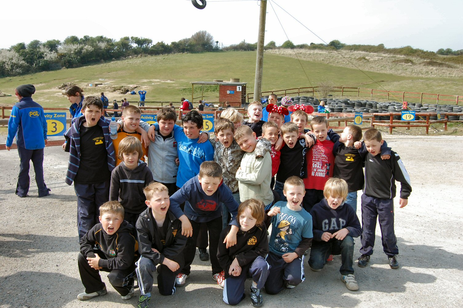 Tigers on Tour – Weymouth 2010