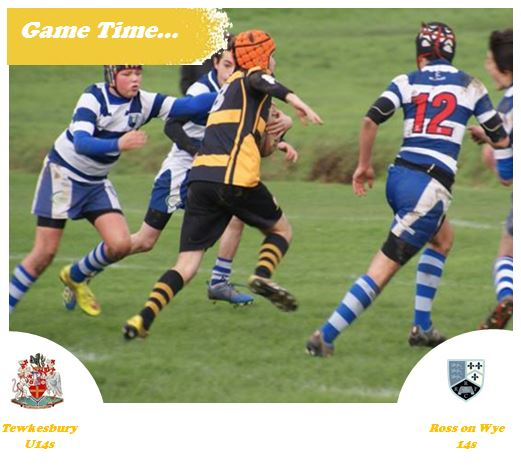 Game Time – U14s v Ross on Wye – 3rd April 2016